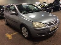 2006 VAUXHALL CORSA 1.2 80 SXI 3 DOOR HATCHBACK SILVER LONG MOT 5 SEATS CHEAP INSURANCE N ASTRA CLIO