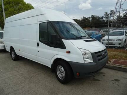2011 Ford Transit VM MY08 Jumbo LWB High Roof White 6 Speed Manual Van Homebush West Strathfield Area Preview