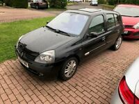 Renault Clio 5Dr Hatchback 1.6 16v Initiale. 91,900 miles, low for year. Excellent runner