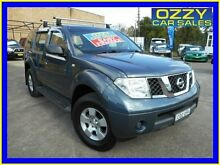 2007 Nissan Pathfinder R51 ST (4x4) Blue 5 Speed Automatic Wagon Emu Plains Penrith Area Preview