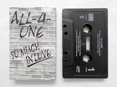 ALL-4-ONE SO MUCH IN LOVE/Something About You 1993 Cassette Tape