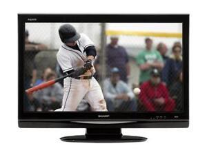 """SHARP AQUOS 32"""" 720p LCD HDTV LC-32D44U"""