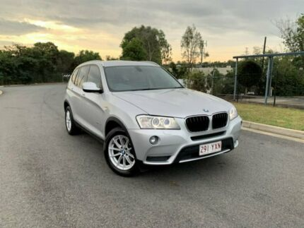 2012 BMW X3 F25 MY0412 xDrive20d Steptronic Silver 8 Speed Automatic Wagon Darra Brisbane South West Preview