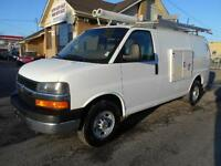 2009 CHEVROLET Express 3500 Cargo 4.8L Rack Generator 98,000KMs
