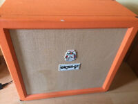 Orange guitar speaker cabinet 240 watt