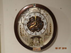 Seiko Musical Marionette Wall Clock - QXM491BRH - Used