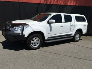 2012 Holden Colorado RG MY13 LT White 5 Speed Manual 4D Utility Moorabbin Kingston Area Preview