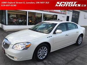 2011 Buick Lucerne CXL! New Brakes! Heated Leather! Sunroof! A/C