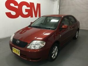 Toyota Corolla CONQUEST Sedan AUTOMATIC 2004 with only 100,000km Seven Hills Blacktown Area Preview