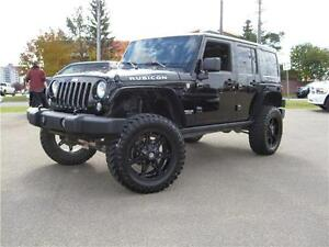 2014 Jeep Wrangler Unlimited Rubicon/LOADED/MANUAL/CUSTOM