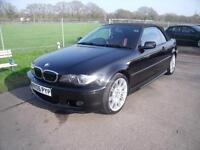 BMW 3 SERIES 330CI M SPORT - FSH, Black, Manual, Petrol, 2006