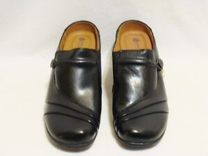 Earth Spirit Leather Shoes Sandals Slides Mules Sz 6,7, 7.5, 8, 8.5 NEW $35-40