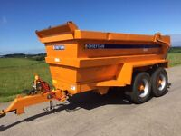 Chieftain 16T Dump Trailer 2001