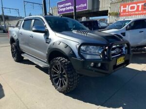 2016 Ford Ranger PX MkII XLT Silver Sports Automatic Utility Granville Parramatta Area Preview