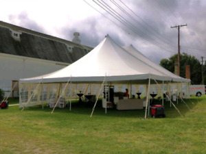40 x 60 Pole Tent USED
