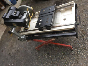 10'' WET SAW ** MINT CONDITION **