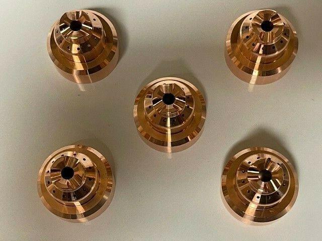 """5Pcs 220818 Cutting Torch Nozzles Shield Cap 45A/65A/85A/105A """"Brand NEW """""""