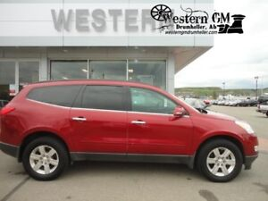 2012 Chevrolet Traverse LT 3.6L AWD 8Passenger DVD Heated Cloth
