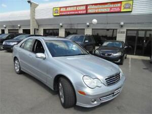 2006 MERCEDES BENZ C-350 4MATIC