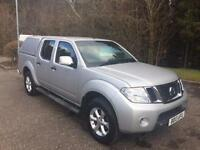 2013 13 NISSAN NAVARA 2.5 DCI ACENTA NO VAT ON TOP 4DR PICK UP 188 BHP DIESEL
