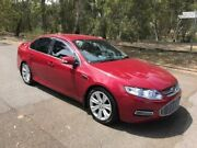 2012 Ford Falcon FG MkII G6E Red 6 Speed Sports Automatic Sedan Hillcrest Port Adelaide Area Preview