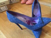 Rad Russel Heels / Blue / Brand NEW / European Size 38 / UK 5.5