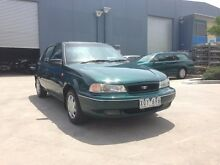 1996 Daewoo Cielo GL Green 5 Speed Manual Hatchback Spotswood Hobsons Bay Area Preview