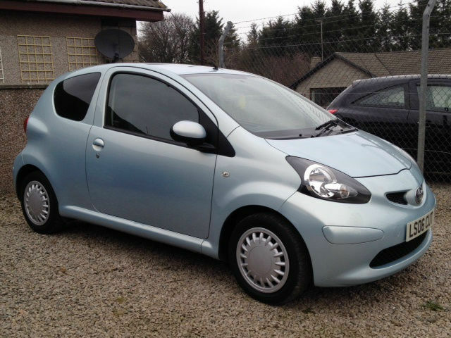 2006 39 06 39 toyota aygo 1 4l diesel aygo in peterhead aberdeenshire gumtree. Black Bedroom Furniture Sets. Home Design Ideas