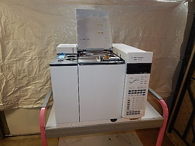 Agilent 7890a Gc Gas Chromatograph System With1 Fid Computer With Software