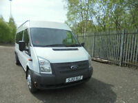 FORD TRANSIT 17 SEATER MINIBUS WITH 1YRS COIF/PSV TEST
