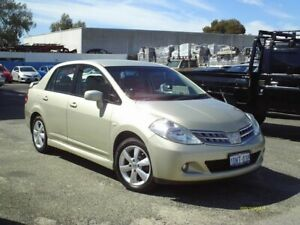 2010 Nissan Tiida Gold Automatic Sedan Embleton Bayswater Area Preview