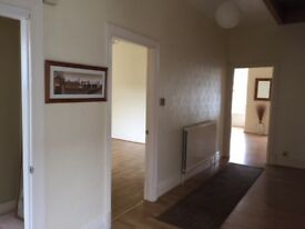 Lovely, large 2 double bedroom flat in Victorian house