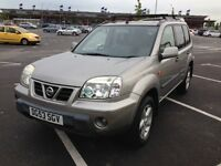 2003(53) NISSAN X-TRAIL SPORT 2.2 TURBO DIESEL 6 SPEED 114 BHP LOW MILEAGE 121K MOT NOVEMBER 2017