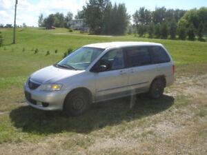 2002 Mazda MPV LX Minivan, Van