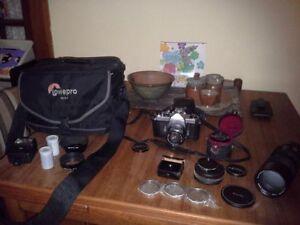Pentax Camera gear for sale