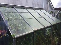 Three greenhouses ..10 x 12 ...8x6...6x6
