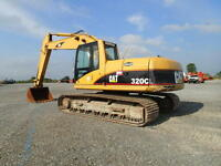 VERY AFFORDABLE CAT 320 EXCAVATOR