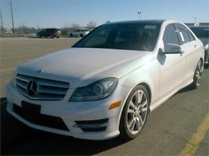 2013 MERCEDES BENZ C350 4MATIC AMG PKG |NAV|BLINDSPT|CAMERA|PANO