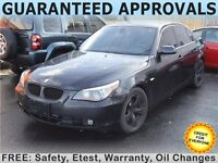 2004 BMW 5-Series 530i Sedan with Sunroof and Leather
