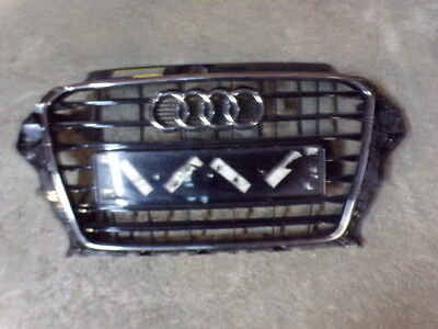 23776 2F 2016 ONWARDS AUDI A3 S LINE FRONT GRILL IN GLOSS BLACK 8V3853651
