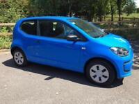 Volkswagen up3 door 1.0 ( 60ps )blue 2015/64 reg Take Up