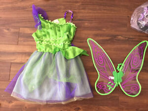 Robe princess Disney FLÉ CLOCHETTE TINKERBRLL