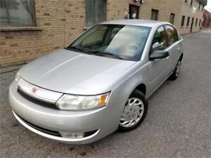 2003 Saturn Ion AUTO/AC/GE.ELEC/CRUISE/CLEAN/LOW KM!!