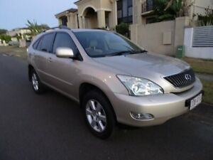 2004 Lexus RX330 MCU38R Sports Luxury Crystal Gold 5 Speed Sequential Auto Wagon Sunnybank Hills Brisbane South West Preview