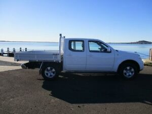 2010 Nissan Navara D40 ST (4x4) White 6 Speed Manual Dual Cab Pick-up Horsley Wollongong Area Preview
