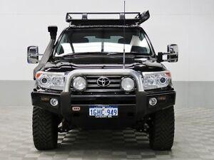 2013 Toyota Landcruiser VDJ200R MY13 VX (4x4) Black 6 Speed Automatic Wagon Jandakot Cockburn Area Preview