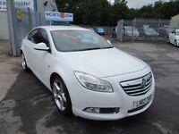 Vauxhall Insignia SRI VX-LINE CDTI (white) 2012