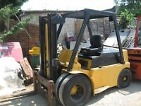 Coventry Climax 8000LB Lift, Diesel Fork Lift Twin Front Wheels Ford Engine Very Tidy £3500 + VAT