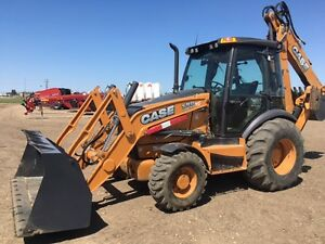 Case 590SN Loader Backhoe