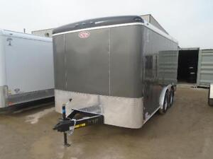 LOWEST PRICE FOR 2016 ATLAS 8X14' ENCLOSED CARGO -$5399 WOW London Ontario image 6